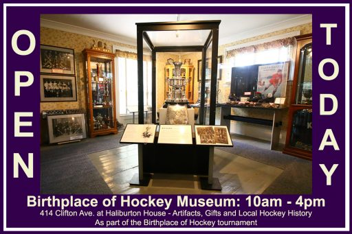 Birthplace of Hockey Museum Open Today