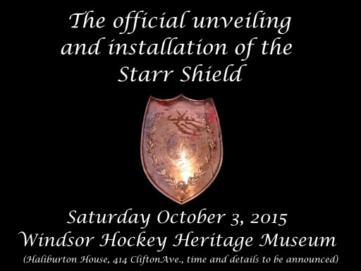 Starr Shield Invitation