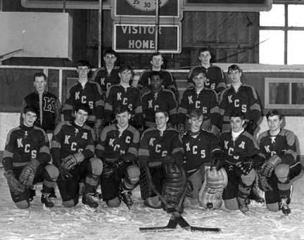 King's College School Hockey Team Winners of Nova Scotia Headmasters Championship 1965-66