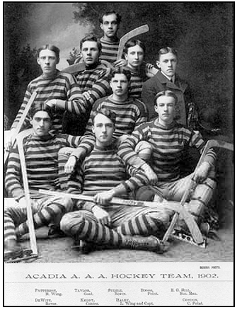 Acadia Axemen Hockey Team 1902