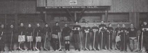 Photo of Acadia Alumni Ice Hockey Team 1920 - 1921