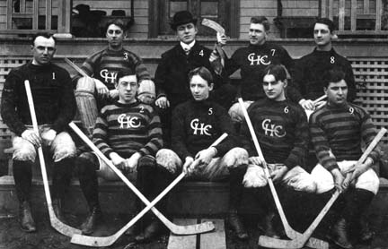 Canning Hockey Team 1902