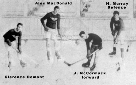 Photo of the Glace Bay Miners Hockey Team - Detail Image 1