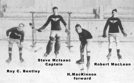 Photo of the Glace Bay Miners Hockey Team - Detail Image 2