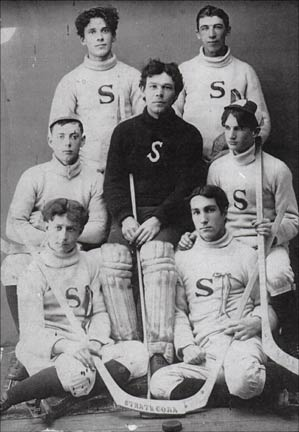 "Team Photo of the Hansport ""Strathconas"" 1902 - Hantsport, Nova Scotia"